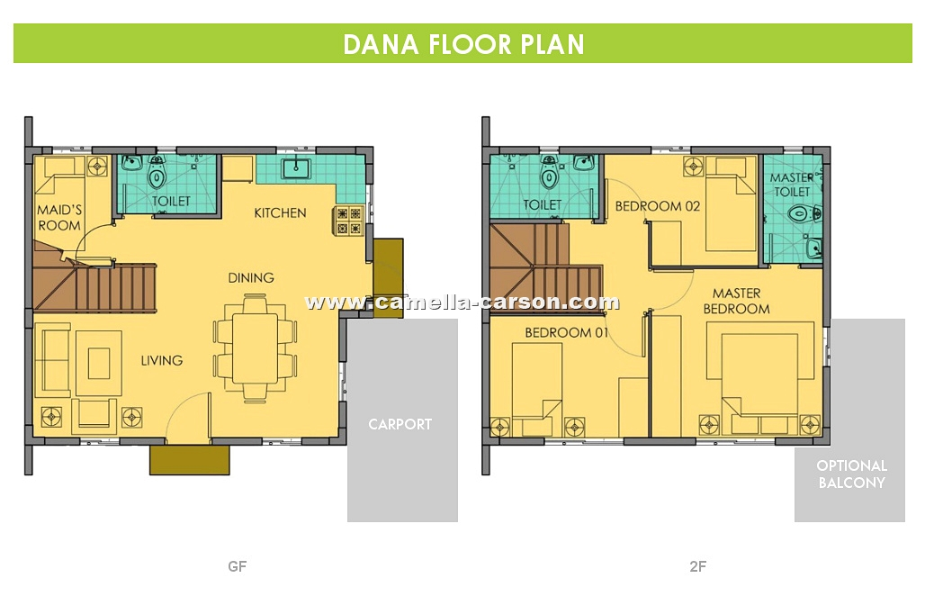 Dana House for Sale in Camella Carson at Vista City