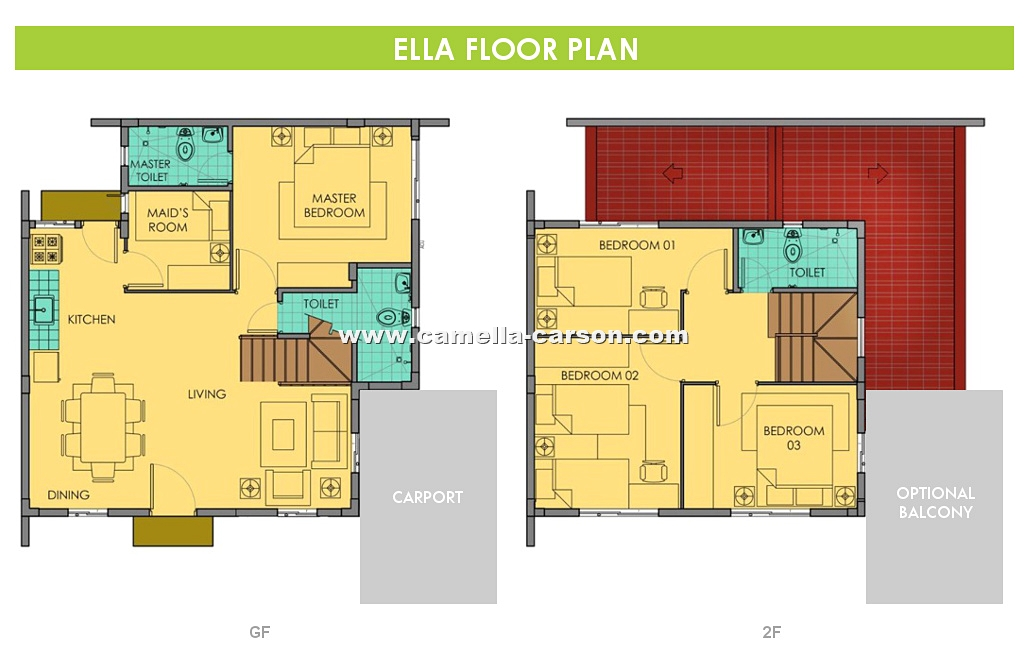 Ella House for Sale in Camella Carson at Vista City