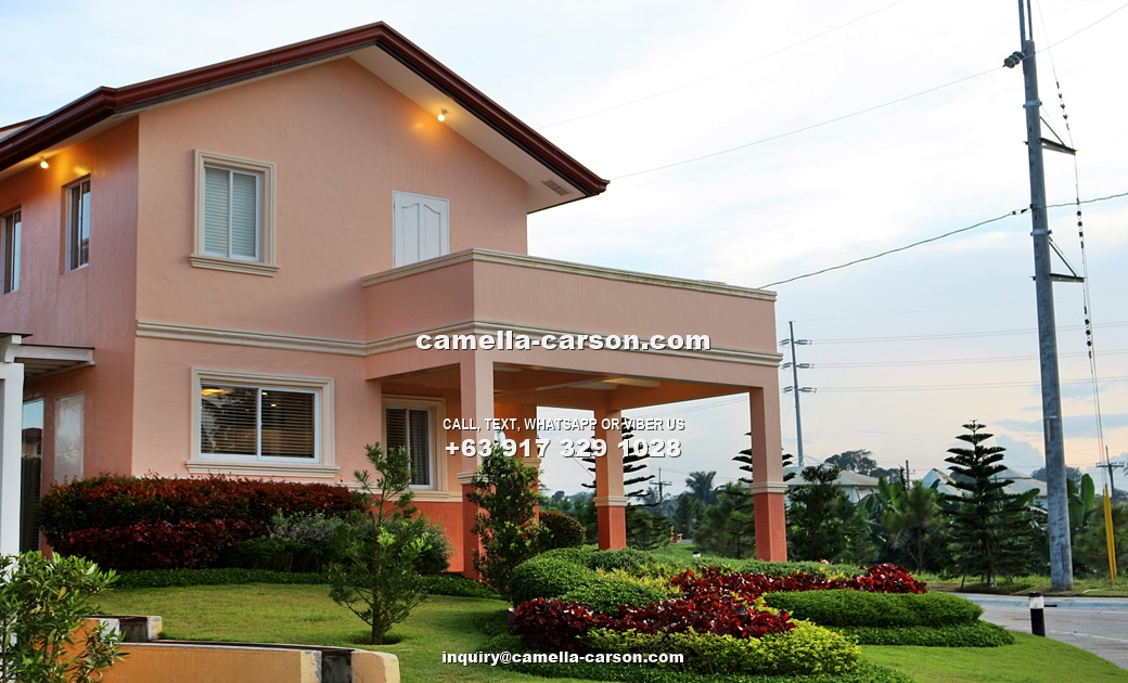 Carina House for Sale in Camella Carson