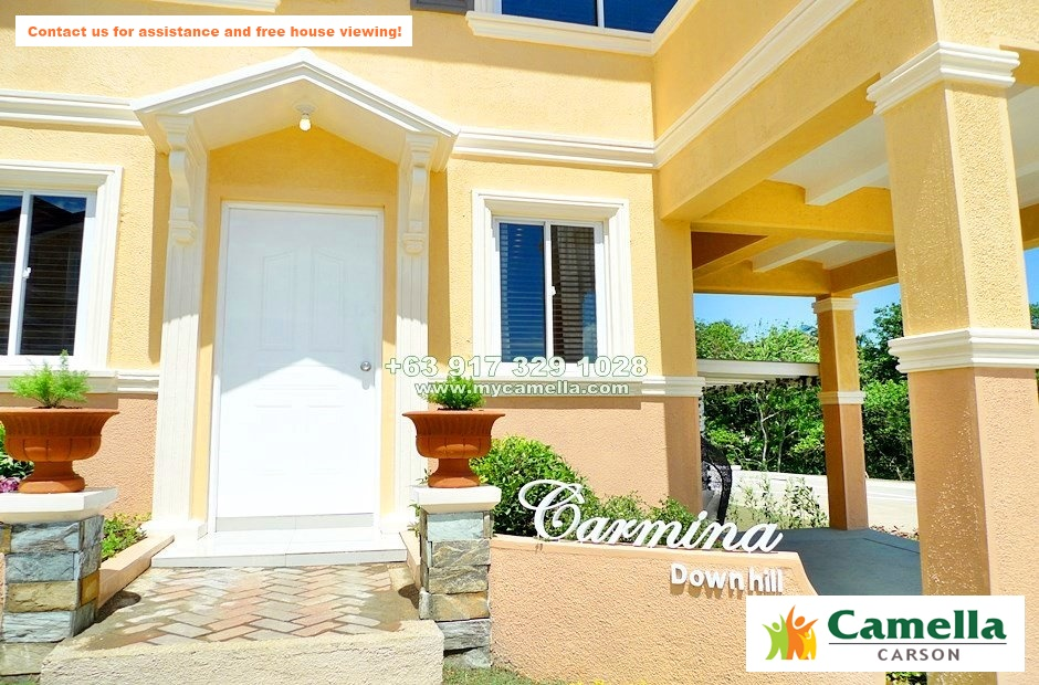Carmina Downhill House for Sale in Camella Carson