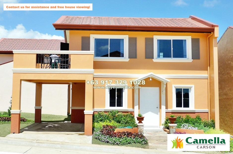 Drina House for Sale in Camella Carson