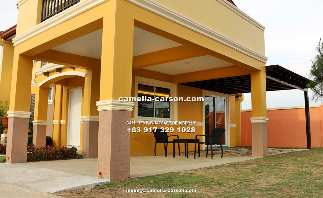 Fatima House for Sale in Camella Carson, Vista City