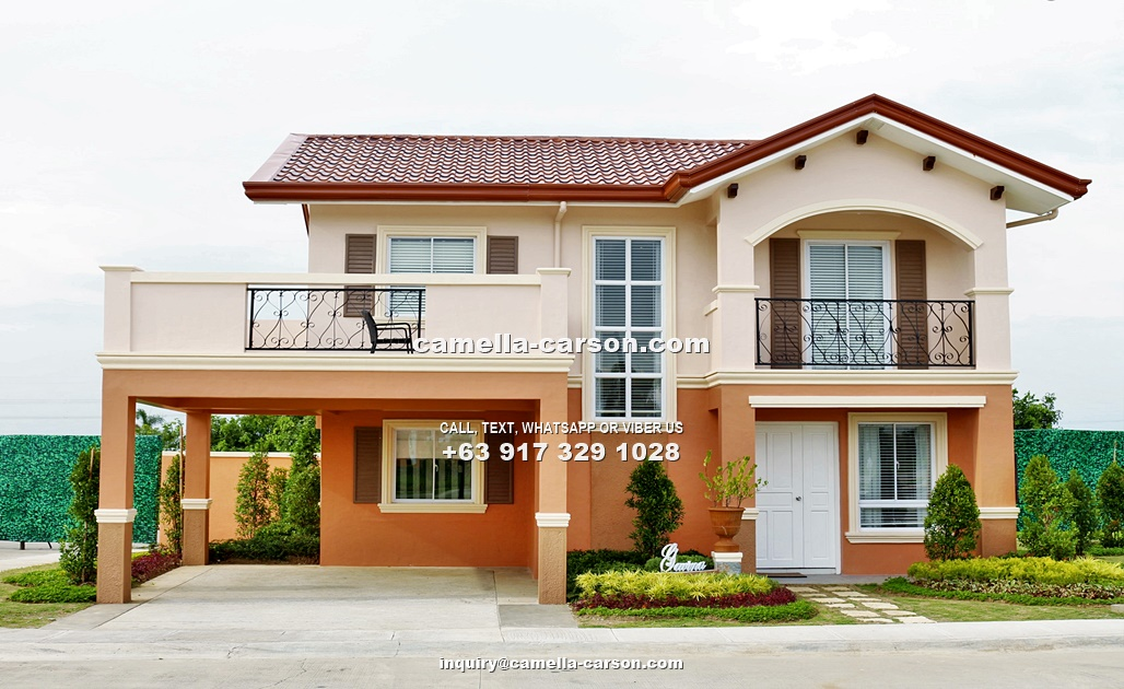 Gavina House for Sale in Camella Carson