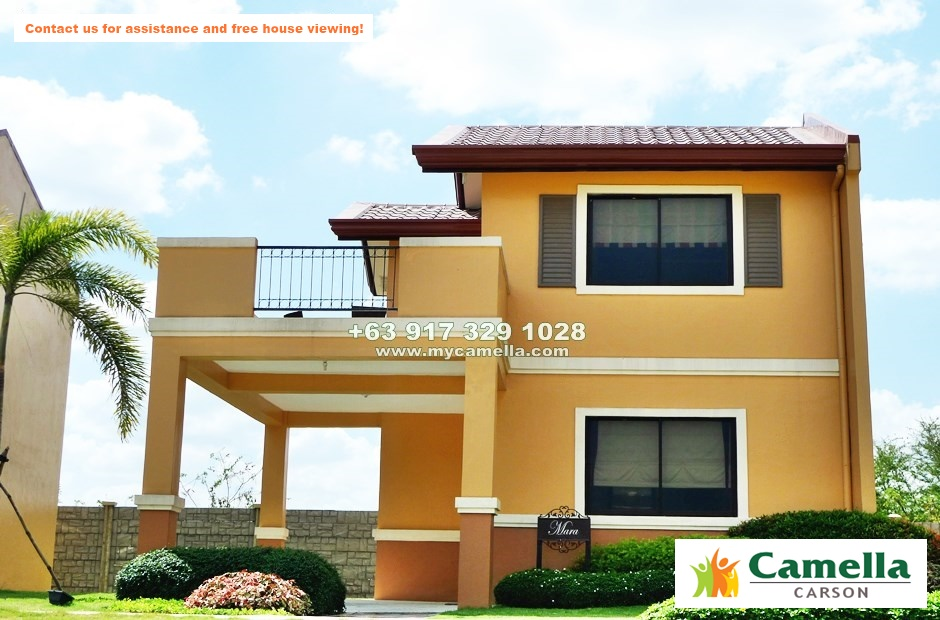 Mara House for Sale in Camella Carson