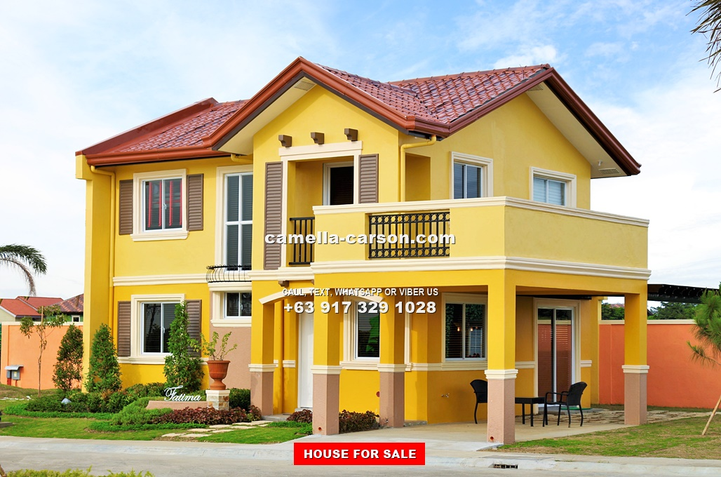 Fatima House for Sale in Camella Carson