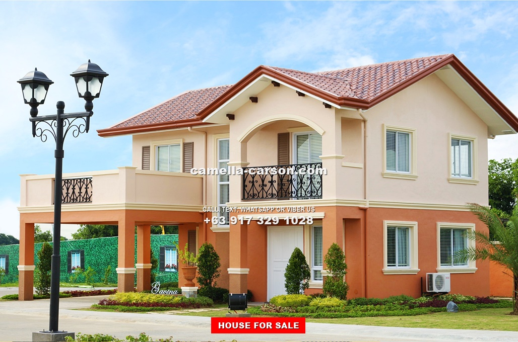 Camella carson philippines house and lot for sale in for Model houses in new york