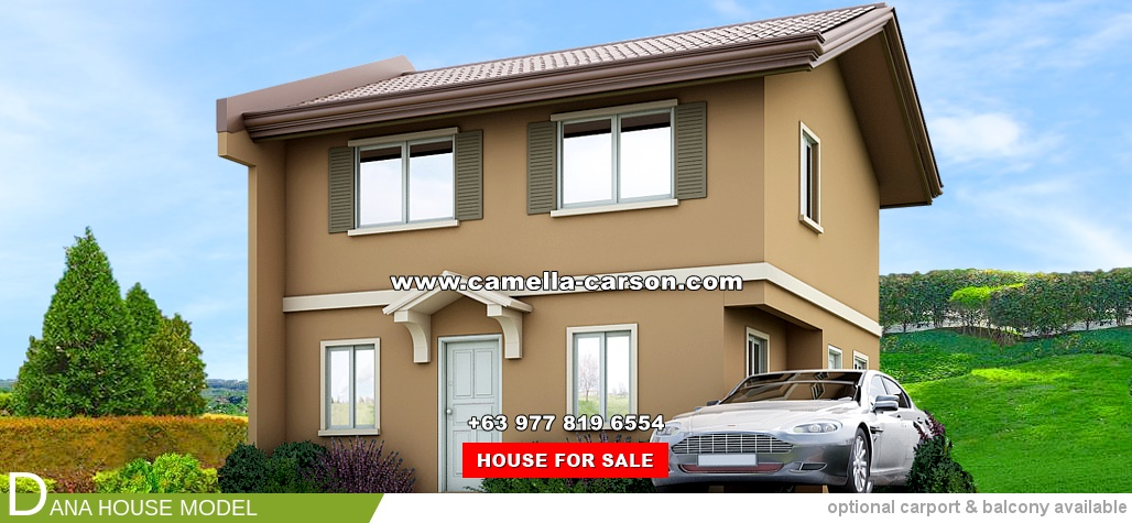 Dana House for Sale in Camella Carson