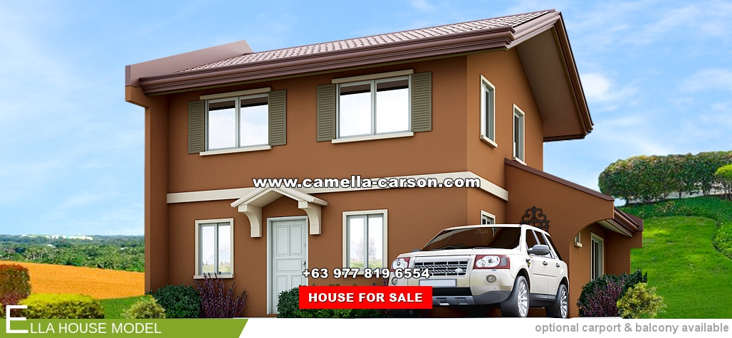 Ella House for Sale in Camella Carson