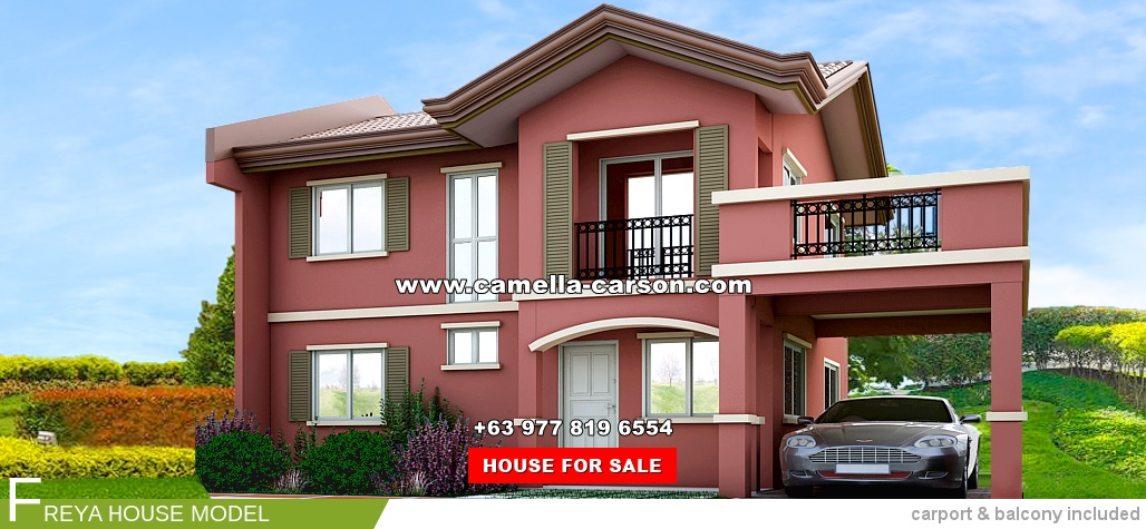 Freya House for Sale in Camella Carson