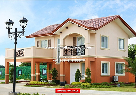 Camella Carson - House and Lot for Sale in Vista City, Philippines