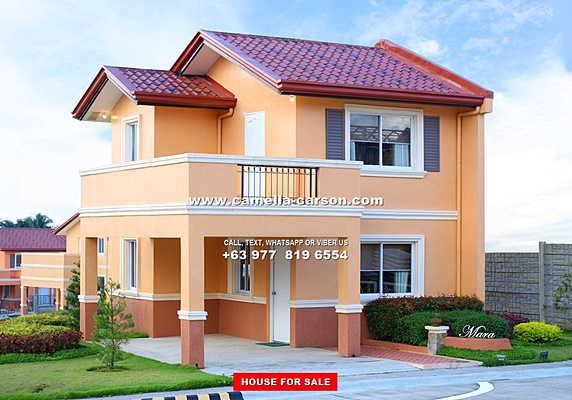 Camella Carson House and Lot for Sale in Daang Hari Philippines