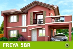 Freya House and Lot for Sale in Vista City Philippines